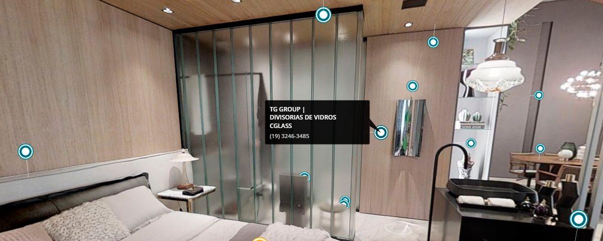C.Glass® TG | Technical Group na CasaCor 2019 no Jockey Club em São Paulo