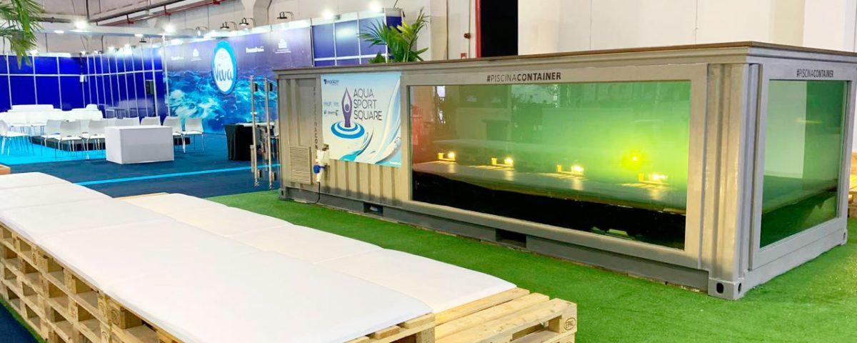 Piscina Container na Expolazer 2019